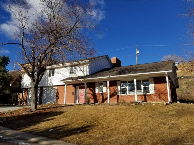 925 S Foothill Drive, Lakewood, CO 80228 (MLS #1731845) :: 8z Real Estate