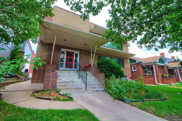 668 Pennsylvania Street #3, Denver, CO 80203 (#1739490) :: The Heyl Group at Keller Williams