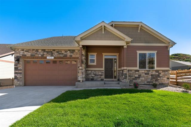 412 Sage Grouse Circle, Castle Rock, CO 80109 (#1790157) :: The DeGrood Team