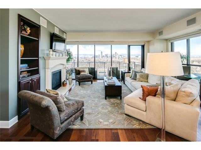 1650 Fillmore Street #1107, Denver, CO 80206 (MLS #1866749) :: 8z Real Estate