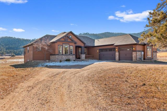 4453 Eagle Ridge Road, Indian Hills, CO 80454 (#1878740) :: The Heyl Group at Keller Williams