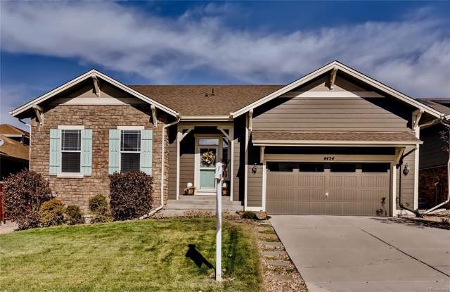 4424 Dusty Pine Trail, Castle Rock, CO 80109 (#1892217) :: The Heyl Group at Keller Williams
