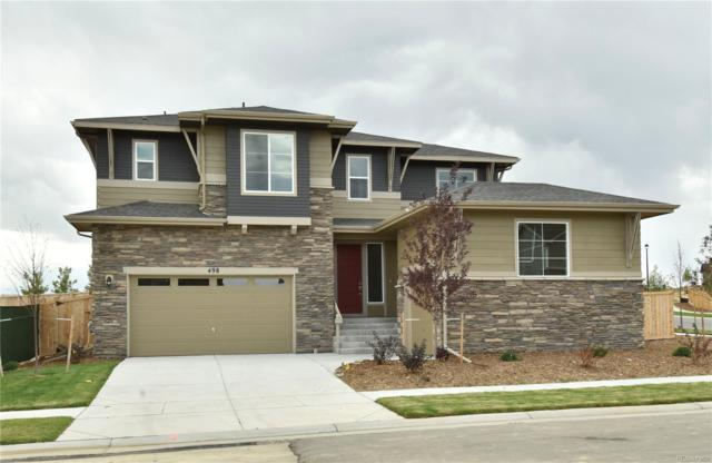498 W 130th Avenue, Westminster, CO 80234 (#1913656) :: The HomeSmiths Team - Keller Williams