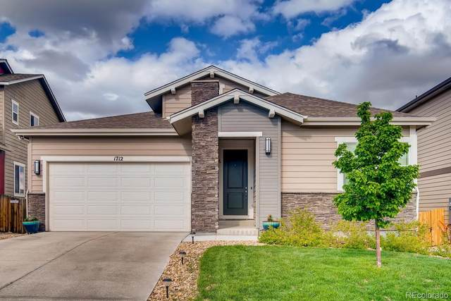 1712 Tall Tale Lane, Castle Rock, CO 80108 (#1924642) :: Bring Home Denver with Keller Williams Downtown Realty LLC