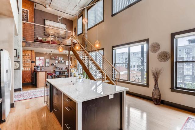 2210 Blake Street #404, Denver, CO 80205 (#1928866) :: Bring Home Denver
