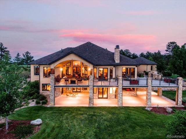 1617 Sky View Lane, Larkspur, CO 80118 (#1929927) :: The Colorado Foothills Team | Berkshire Hathaway Elevated Living Real Estate