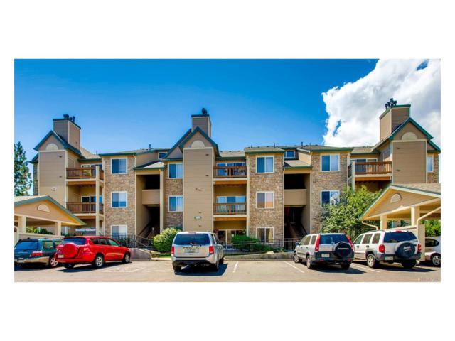 7489 S Alkire Street #103, Littleton, CO 80127 (MLS #1933935) :: 8z Real Estate