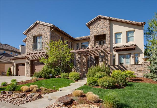 9617 Silent Hills Lane, Lone Tree, CO 80124 (#1985143) :: The Galo Garrido Group