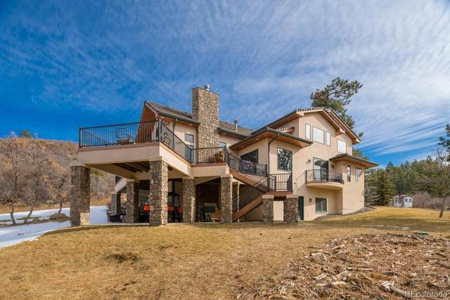 5088 S Perry Park Road, Sedalia, CO 80135 (#1993560) :: Chateaux Realty Group