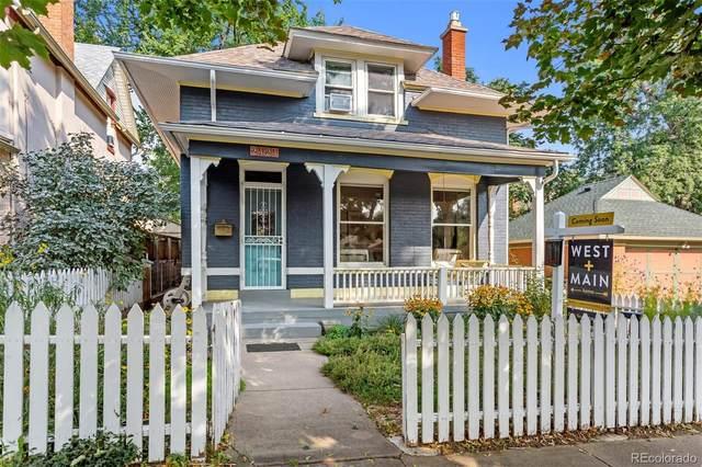2424 N Hooker Street, Denver, CO 80211 (MLS #2006682) :: Bliss Realty Group