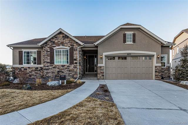 2633 Hillcroft Lane, Castle Rock, CO 80104 (#2065691) :: Berkshire Hathaway HomeServices Innovative Real Estate