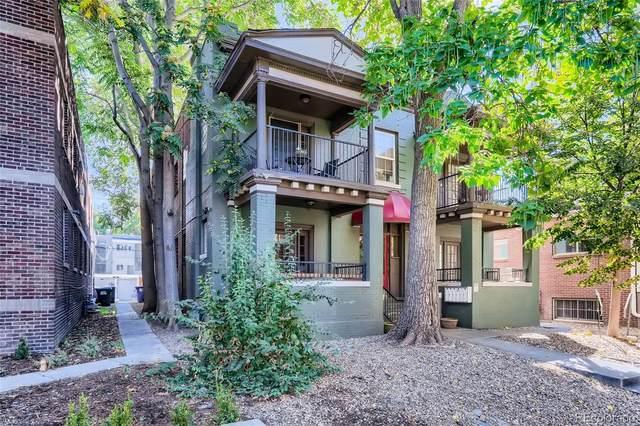 1656 N Franklin Street #2, Denver, CO 80218 (#2091656) :: Wisdom Real Estate