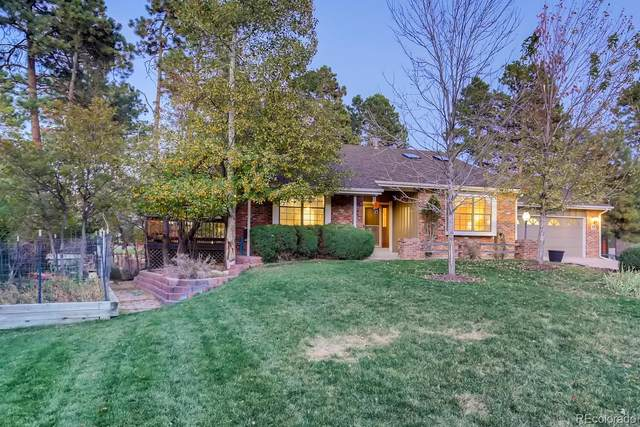 6052 Ponderosa Way, Parker, CO 80134 (#2096846) :: Peak Properties Group