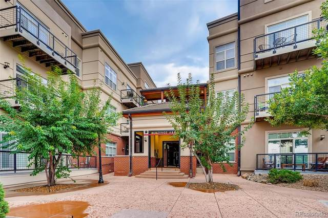 5677 S Park Place 310B, Greenwood Village, CO 80111 (#2114403) :: The DeGrood Team