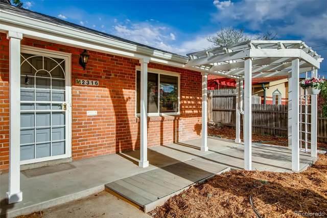 2316 Magnolia Street, Denver, CO 80207 (#2127915) :: Wisdom Real Estate