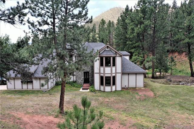 15807 Pine Valley Road, Pine, CO 80470 (#2154007) :: Berkshire Hathaway HomeServices Innovative Real Estate