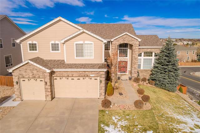 1745 Cuprite Court, Castle Rock, CO 80108 (#2162218) :: The HomeSmiths Team - Keller Williams