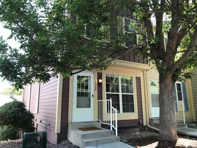 10348 W Dartmouth Avenue, Lakewood, CO 80227 (#2175756) :: Wisdom Real Estate