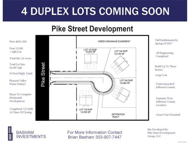Pike Street, Golden, CO 80401 (MLS #2198081) :: 8z Real Estate