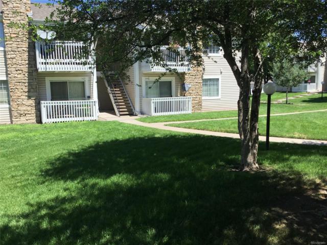 14102 E Colorado Drive #104, Aurora, CO 80012 (MLS #2205623) :: 8z Real Estate