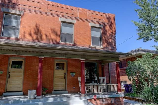 1347 Steele Street, Denver, CO 80206 (#2212161) :: The Scott Futa Home Team