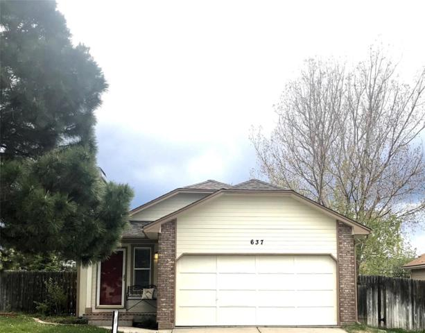 637 Howe Street, Castle Rock, CO 80104 (#2247250) :: The Peak Properties Group