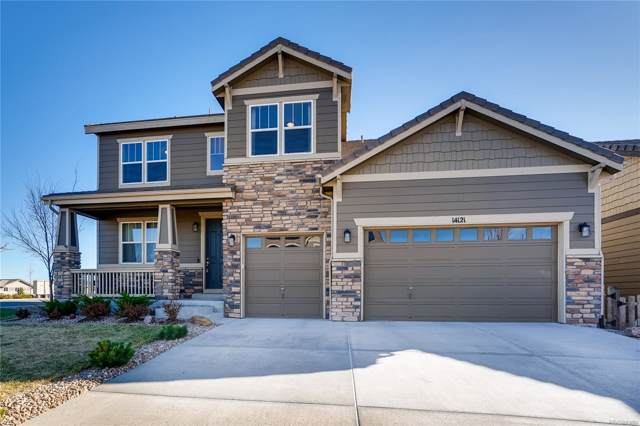 14121 Sierra Ridge Circle, Parker, CO 80134 (#2254066) :: 5281 Exclusive Homes Realty