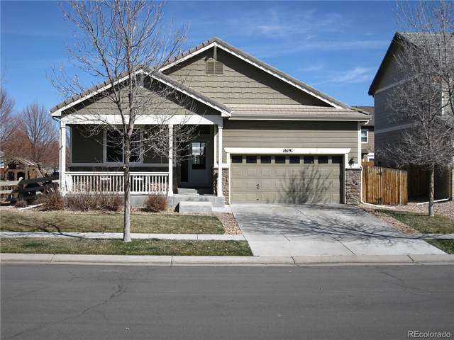 16191 E 98th Avenue, Commerce City, CO 80022 (#2285689) :: The Peak Properties Group
