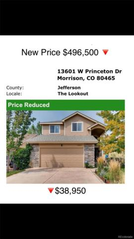 13601 W Princeton Drive, Morrison, CO 80465 (#2299183) :: The City and Mountains Group
