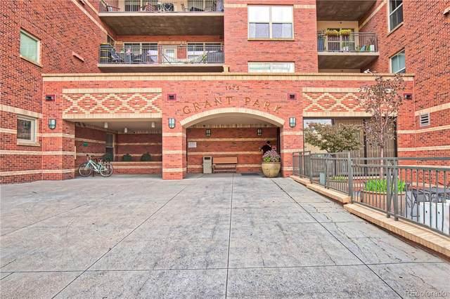 1975 N Grant Street #710, Denver, CO 80203 (#2302428) :: The Scott Futa Home Team