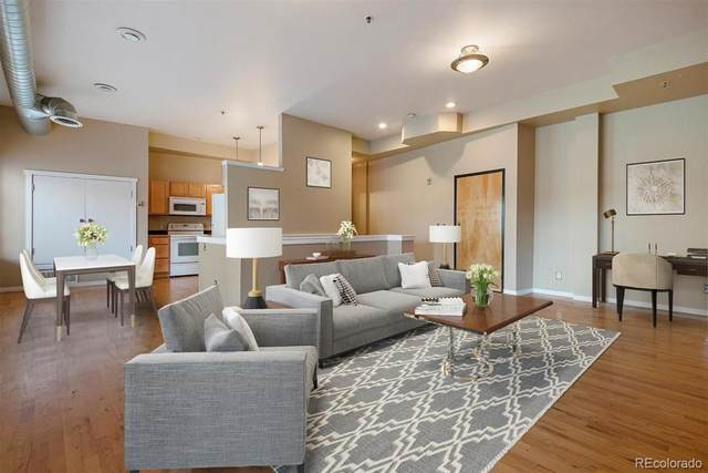 70 W 6th Avenue #107, Denver, CO 80204 (#2313735) :: The Scott Futa Home Team