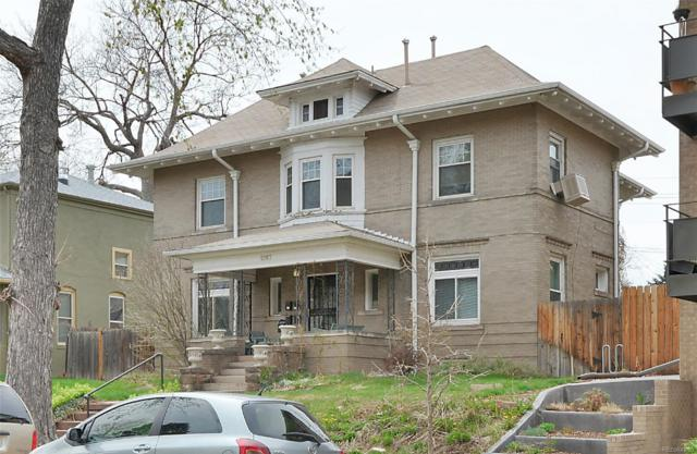 1267 N Marion Street, Denver, CO 80218 (#2313773) :: The Pete Cook Home Group