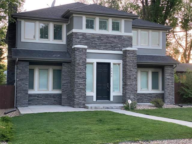 1545 S Garfield Street, Denver, CO 80210 (#2348028) :: The Healey Group