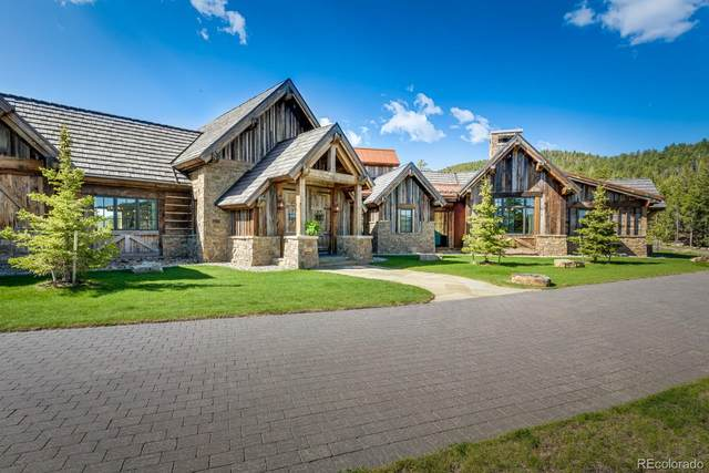 30153 Wild West Trail, Evergreen, CO 80439 (#2348863) :: The HomeSmiths Team - Keller Williams