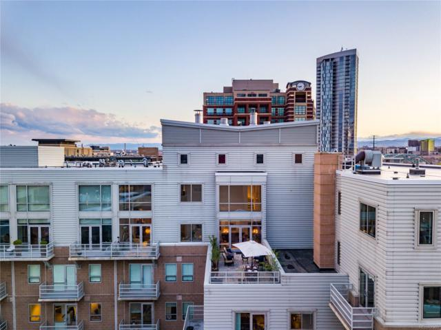 1610 Little Raven Street Ph10, Denver, CO 80202 (#2359675) :: The City and Mountains Group