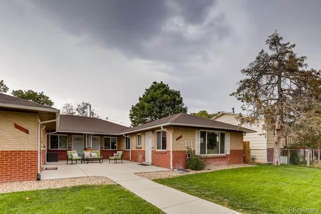 3557 Leyden Street, Denver, CO 80207 (MLS #2444591) :: Neuhaus Real Estate, Inc.