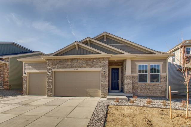 936 Sundance Lane, Erie, CO 80516 (#2473411) :: House Hunters Colorado