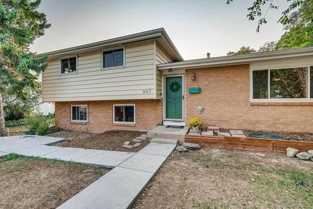 945 Laurel Street, Broomfield, CO 80020 (MLS #2499244) :: 8z Real Estate