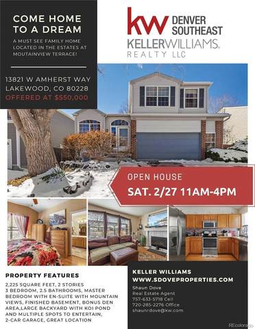 13821 W Amherst Way, Lakewood, CO 80228 (#2511238) :: Mile High Luxury Real Estate