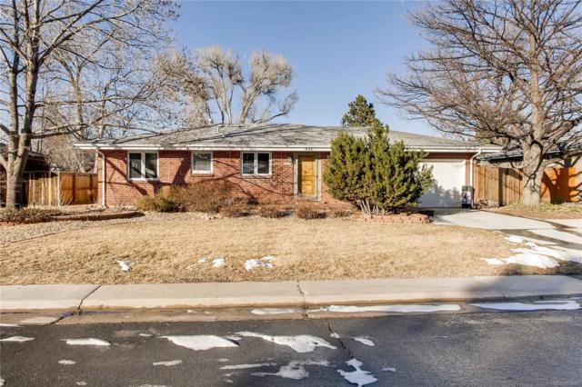 841 E Applewood Avenue, Centennial, CO 80121 (MLS #2599483) :: 8z Real Estate