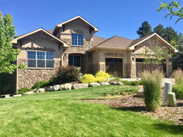 12045 S Bluff View Place, Parker, CO 80134 (#2613716) :: The HomeSmiths Team - Keller Williams