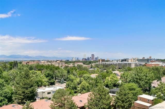 3131 E Alameda Avenue #802, Denver, CO 80209 (MLS #2628444) :: 8z Real Estate