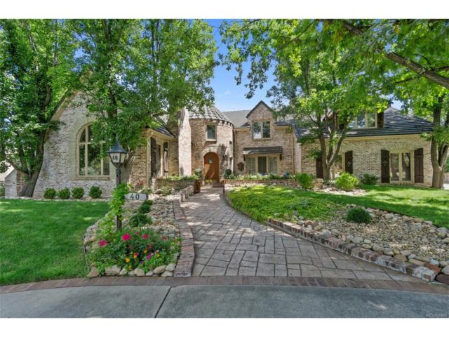 40 Glenmoor Drive, Cherry Hills Village, CO 80113 (#2644101) :: Thrive Real Estate Group