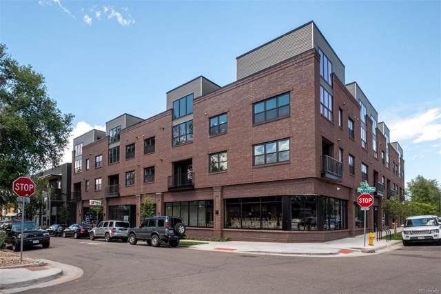 431 E Bayaud Avenue #214, Denver, CO 80209 (#2663933) :: milehimodern