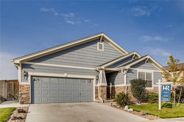 16238 E 105th Way, Commerce City, CO 80022 (#2689293) :: The DeGrood Team