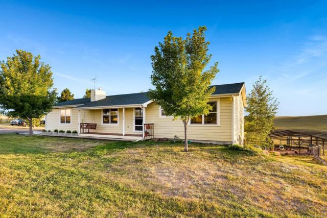 5500 County Road 166, Elizabeth, CO 80107 (#2689659) :: Bring Home Denver with Keller Williams Downtown Realty LLC