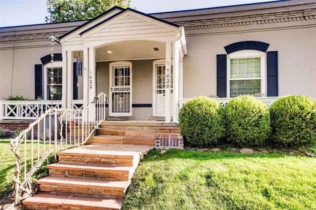 1022 E 4th Avenue, Denver, CO 80218 (#2705366) :: The Heyl Group at Keller Williams