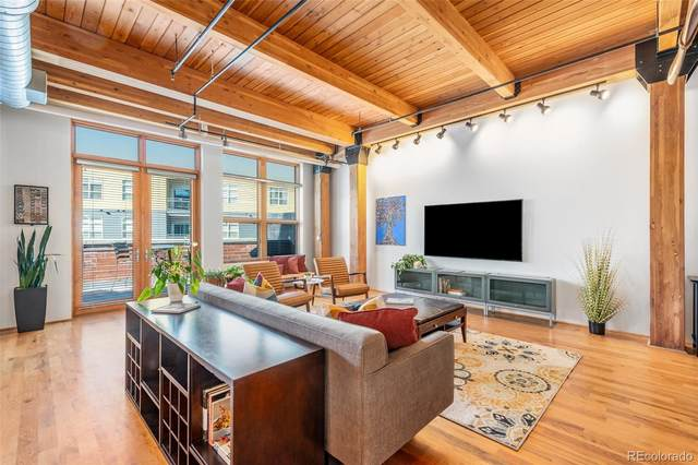 2955 Inca Street 3J, Denver, CO 80202 (#2734086) :: Real Estate Professionals