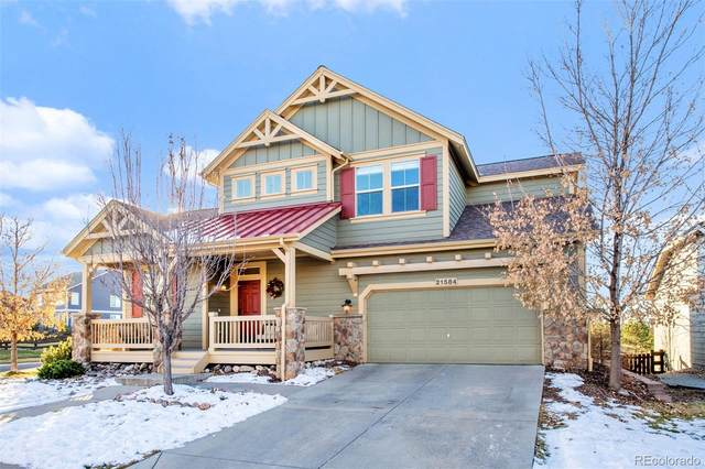 21584 E Tallkid Avenue, Parker, CO 80138 (#2736925) :: iHomes Colorado