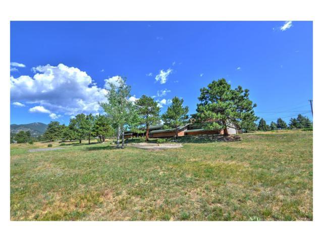 3886 Ponderosa Drive, Evergreen, CO 80439 (MLS #2746835) :: 8z Real Estate